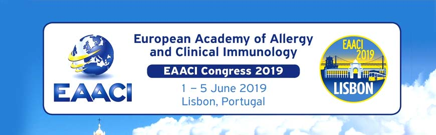 EAACI Congress 2019 - European Academy of Allergy & Clinical Immunology